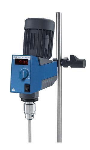 艾卡(IKA) RW20 数显型顶置式机械搅拌器